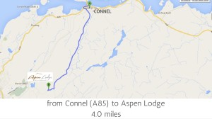 Connel to Aspen Lodge