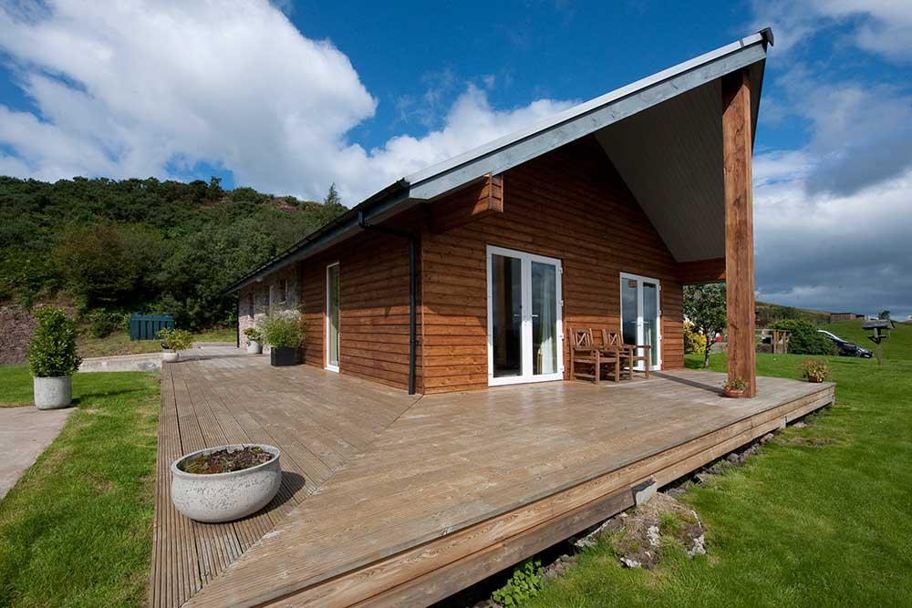 Exterior Aspen Lodge